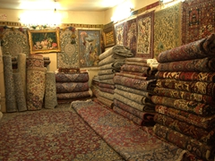 Carpet shop; Esfahan Bazaar