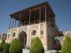 Ali Qapu Palace, a 6 storey, 16th century residence and gateway to the Royal Palaces