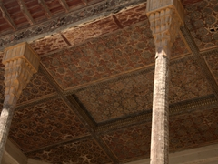 Ceiling detail of Hasht Behesht Palace