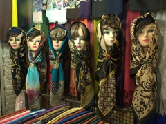 Ladies headscarf models
