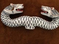 Elephant tusk crosier; Vank museum