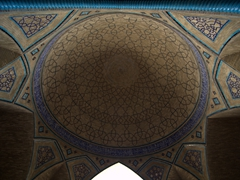 Ceiling detail; Hakim Mosque