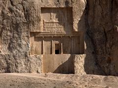 Achaemenid tomb of Artaxerxes I; Naqsh-e Rustam
