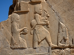 Delegations bearing gifts for the king; Persepolis
