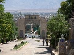 Qur'an Gate, an entrance to the city of Shiraz