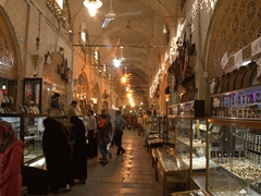 Jewelry section of Vakil Bazaar; Shiraz