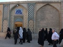 Locals flocking to Hammam-e Vakil; Shiraz