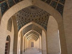 Archway detail; Nasir-ol-Molk Mosque