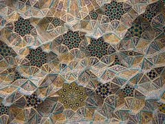 Gorgeous tilework at Nasir-ol-Molk Mosque