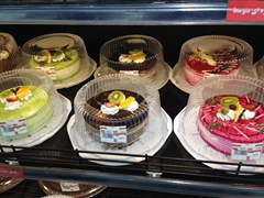 Assorted cakes for sale; Esfahan