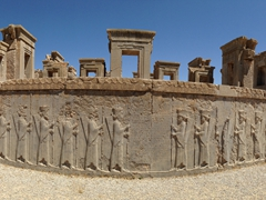 Panorama of Tachara Palace; Persepolis