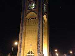 Yazd clock tower