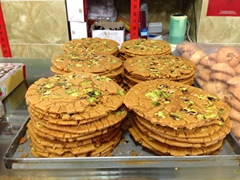 Addictive sohan (a traditional Persian saffron brittle toffee); Yazd