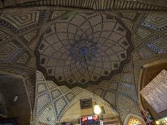 Dome of Serai Mushir, a 2 storey caravanserai in Vakil Bazaar; Shiraz