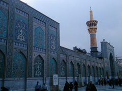 Enqelab Islami (Islamic Revolution) Courtyard; Imam Reza's Holy Shrine in Mashhad
