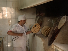 Baker in old Yazd
