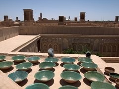 Rooftop view of old Yazd