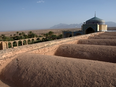 Rooftop view of Garmeh's only mosque
