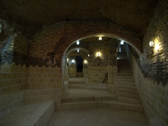 Stairs leading to an underground qanat; Yazd