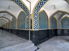 Covered archways; Mashhad