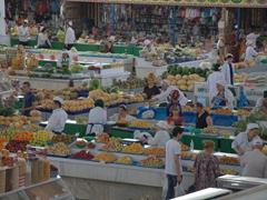 Russian bazaar; Ashgabat