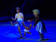 Michael Nguyen gets selected from the crowd to perform at the Turkmen State Circus much to the locals delight!