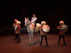 Fantastic performances at the Turkmen State Circus where tickets cost a mere 2 Manat (50 cents)...phenomenal value!