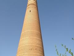 11th century Kutlug Timur Minaret; Konye Urgench