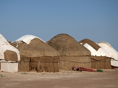 Ayaz-Qala yurt camp