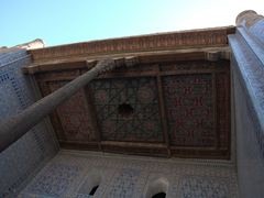 Tosh-Hovli Palace, home to some of the finest interior decorations in Khiva