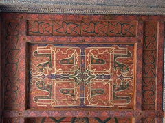 Ceiling detail; Tosh-Hovli Palace