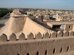 Khiva city walls