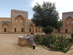 Courtyard of Mohammed Rakhim Khan Medressa