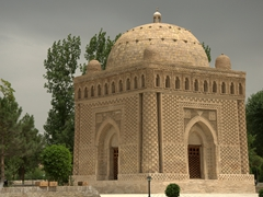 Ismail Samani Mausoleum in Samani Park; Bukhara