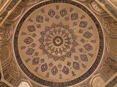 Dome; Shah-I-Zinda