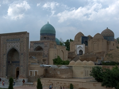 Shah-I-Zinda, a stunning avenue of mausoleums in Samarkand