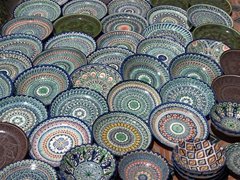 Colorful ceramics for sale