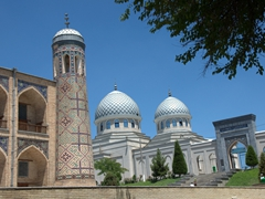 Kulkedash Medressa and Juma (Friday) Mosque; Tashkent