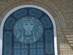 Decorative window; Tashkent