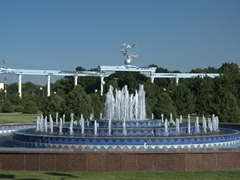 Fountain at Independence Square; Tashkent