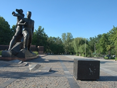 Earthquake memorial to commemorate the 26 April 1966 earthquake; Tashkent