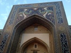Nadir Divanbegi Medressa; Lyabi-Hauz plaza in Bukhara