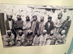 Photograph of prisoners at the Zindon, Bukhara's most imfamous prison