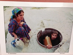Shavkat Boltaev, photographer from Bukhara. This is one of his postcards for sale
