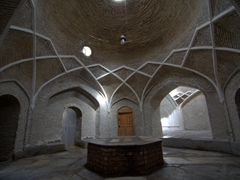 Hammom Kunjak, a women's only bathhouse behind the Kalon Minaret; Bukhara