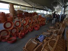 Woven baskets; Chorsu Bazaar
