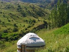 Yurt; Aksu-Zhabagly Nature Reserve
