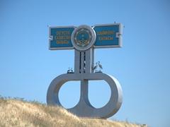 City sign post