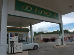 Dido gas station