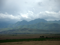 Beautiful Kazakhstan scenery